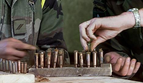 Bundeswehr loses 32,000 bullets in break-in