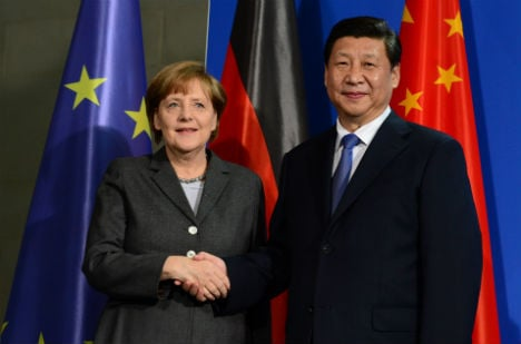 Germany and China rev up economic ties
