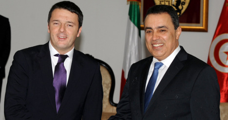 Italy PM makes Tunisia his first port of call