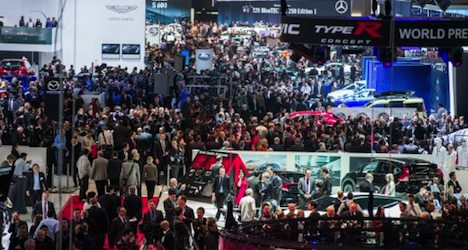 Small cars take centre stage at motor show
