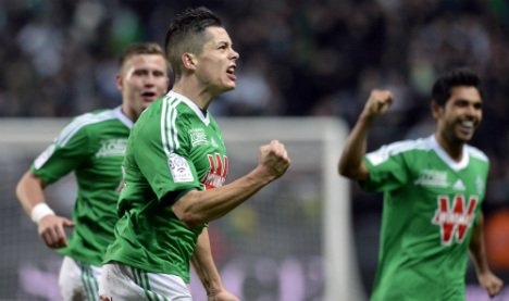 Monaco stumble at in-form St Etienne