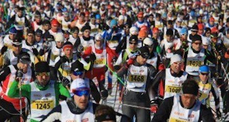 Marathon race skier dies after crossing finish line