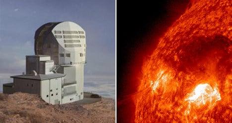 Spanish-made solar telescope world's biggest