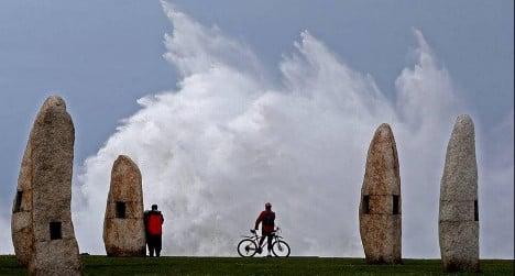 In pictures: Wild storm wreaks havoc in Spain