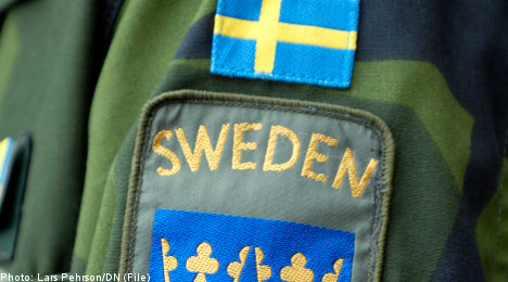 Swedes train with Nato on Russian border