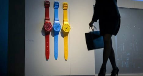 Swatch sues US retailer for 'copycat' watches