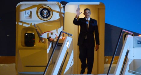 Obama in Rome 'to bask in the glow of new Pope'