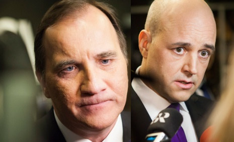 Löfven slates 'cocky' PM in number-crunch row