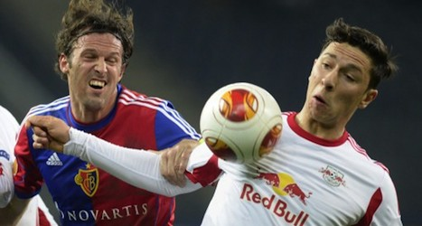 Football yobs mar Basel win over Salzburg
