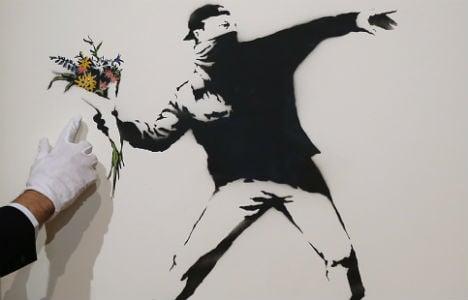 Banksy set for Stockholm street art show