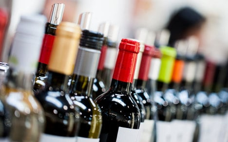 Germans buy half their wine at Aldi and co