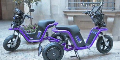 Plans for Paris scooter-sharing scheme unveiled