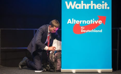 Eurosceptic AfD party weeds out spy