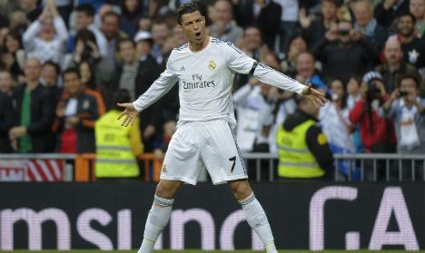 Classy Ronaldo double gives Madrid 4-0 win