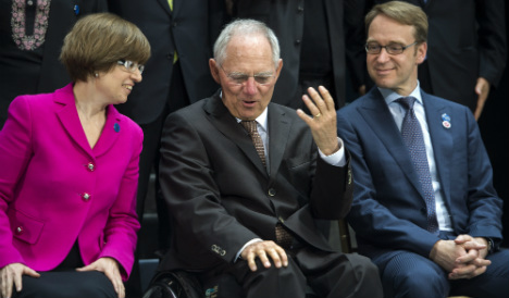 Ukraine crisis could unite US, EU: Schäuble
