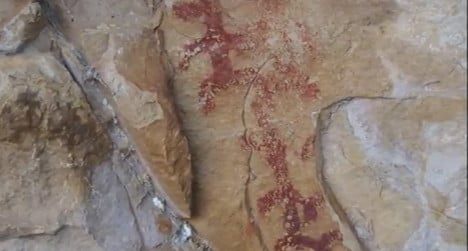 Thieves destroy ancient rock painting in Spain