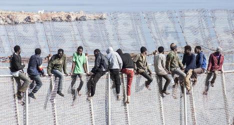 Surge in migrant arrivals in Spanish territory