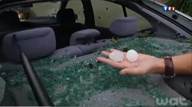 Normandy villages hit by freak violent hailstorms