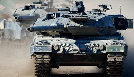 Coalition argues over Saudi Arabia tank deal