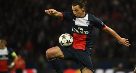 PSG: Injured Ibrahimovic heads to Sweden