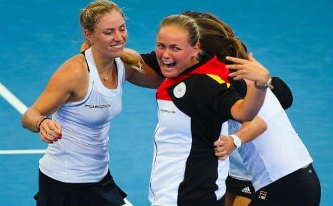 German ladies net Fed Cup final appearance