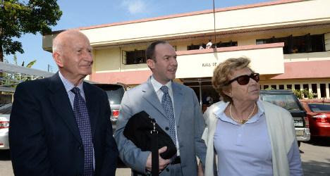 Detained Italian diplomat is innocent: family