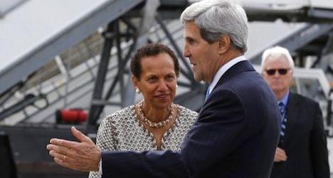 Kerry bound for Geneva talks on Ukraine crisis