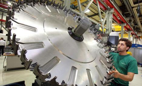 German economy enjoying 'solid upturn'