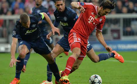 Bayern Munich crush Man United's hopes
