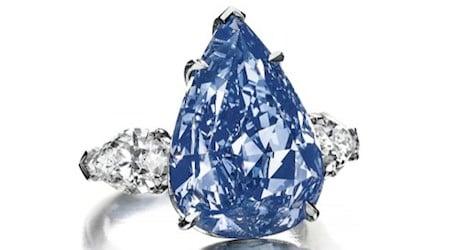 Largest blue diamond set for Geneva auction
