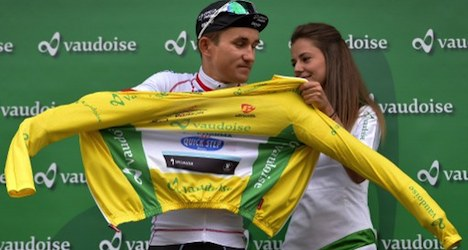 Pole wins Tour de Romandie prologue race