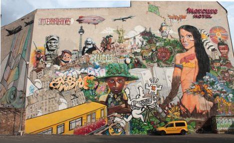 Berlin's best street art – in pictures