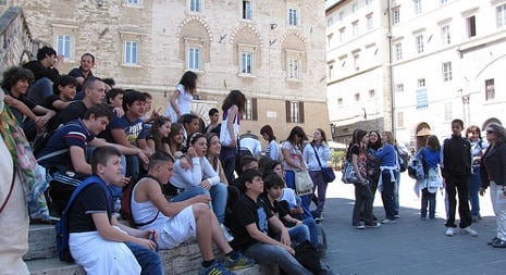 Perugia shortlisted for European Youth Capital