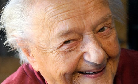 Germany's oldest woman dies aged 112