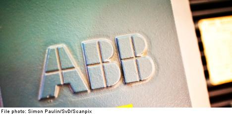 Sweden's ABB sees net profit shrink 18 percent