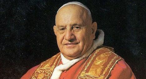 'Good Pope John' saved thousands of Jews