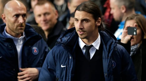 'Zlatan will be back for finals': PSG coach