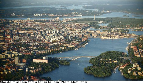 Swede survives plane crash in Stockholm sea