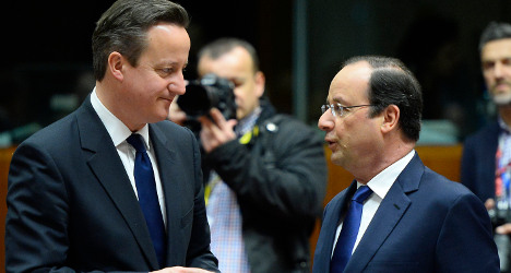 French, British leaders decry Ukraine violence