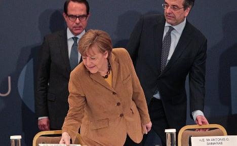 Merkel 'believes' in Greece after reforms