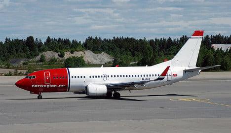 Bomb threat diverts Norwegian flight