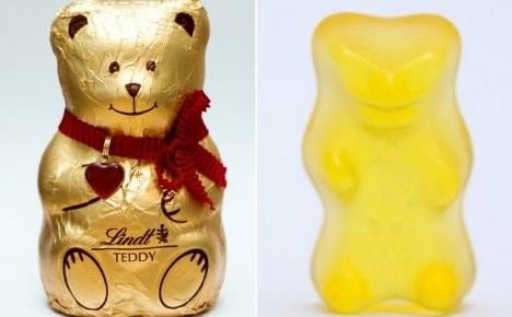 Lindt's teddies gain revenge over jelly bears