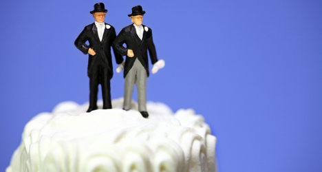 Gay couple face court battle over marriage