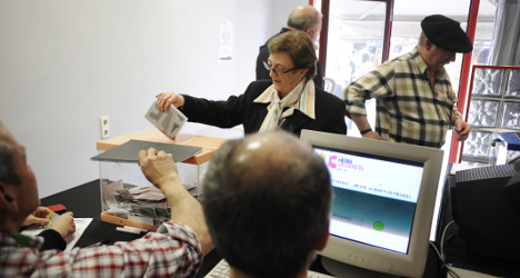 Spanish village holds 'independence vote'