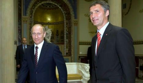 Putin praises new Nato chief Stoltenberg