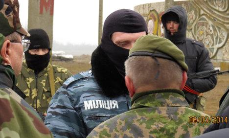 Four Germans held hostage in Ukraine
