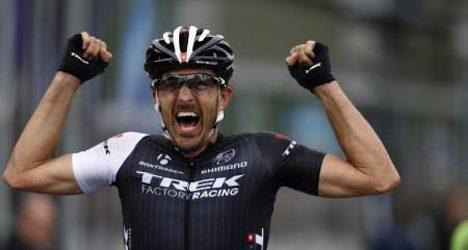 Cancellara ends up third in Paris-Roubaix race