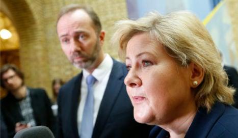 Norway PM backs gay church weddings