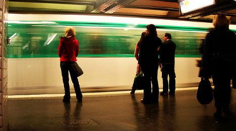 Paris: Woman pushed onto Metro tracks