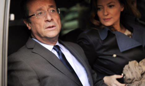 Hollande's popularity sinks as new PM's rises